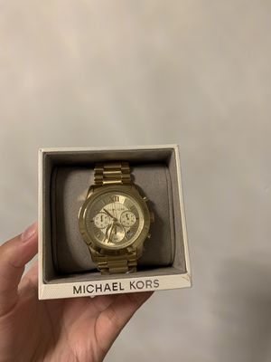 Michael Kors gold women's watch for Sale in St. Louis, MO