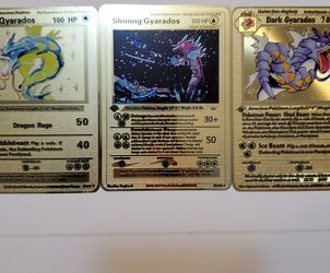 Various Metal Collectable Pokemon Cards for Sale in Queens,  NY