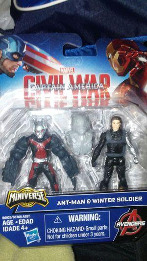 Brand new unopened captain America ant man winter soldier for Sale in Orlando, FL