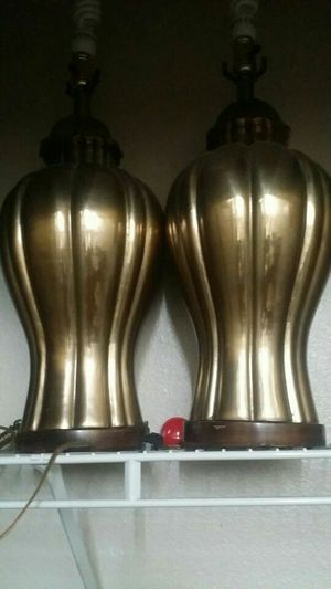 Golden antique lamps for Sale in San Diego, CA