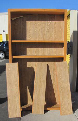 Tall Pressboard (7) Shelf Wall Unit for Sale in Queen Creek, AZ