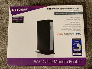 Netgear N450 Xfinity Modem Router for Sale in Katy, TX