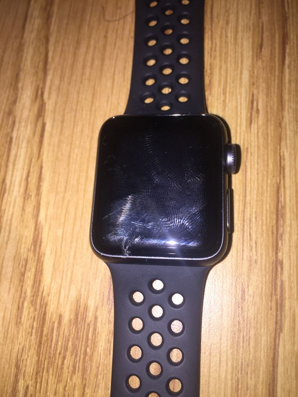 Cracked 3rd series apple watch 38mm