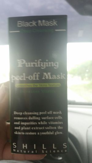 Black peel off mask for Sale in Fort Worth, TX