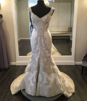 """Matthew Christopher Couture """"Elizabeth"""" Wedding Dress - Size 8 for Sale in Clearwater, FL"""