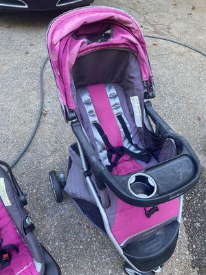 Eddie Bauer Stroller & Car Seat Set for Sale in Stone Mountain, GA