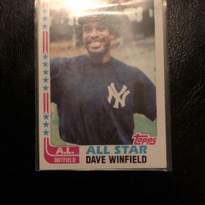 Dave Winfield baseball card 553 for Sale in Ladera Ranch, CA