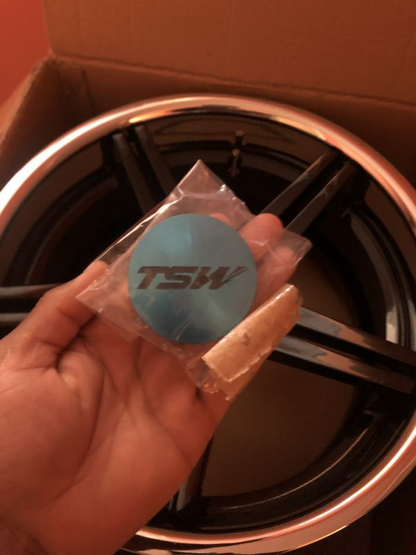 18x 9.5 TSW RIMS