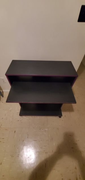 Desk with wheels might need painting for Sale in The Bronx, NY