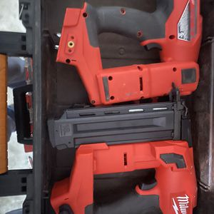 Milwakee 18 G Cordless Nailer for Sale in Tampa, FL