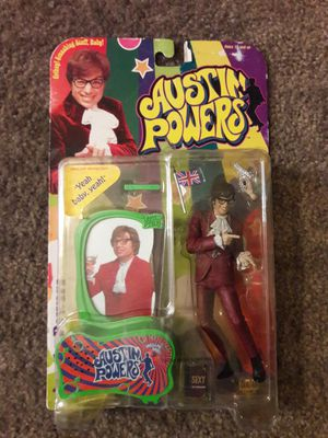 McFarlane Toys Austin Powers Series 1 Action Figure - NEW IN BOX for Sale in Oxnard, CA