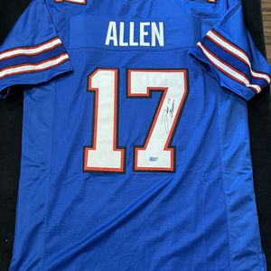 Josh Allen Signed Buffalo Bills Jersey with COA for Sale in Scottsdale, AZ