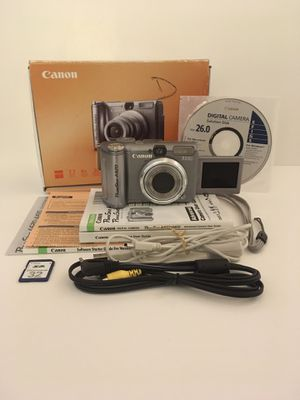 Canon A620 Digital Camera Working, introductory camera for Sale in Federal Way, WA