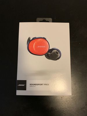 Bose Soundsport Free Wireless Headphones for Sale in Portland, OR