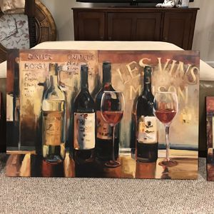 Wine 🍷 Wall Decor for Sale in Gaithersburg, MD