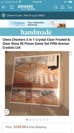 Game 3 in 1 fifth Ltd Avenue Cristal. for Sale in Port St. Lucie, FL