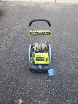 Ryobi power washer 2000psi electric for Sale in Melrose, MA