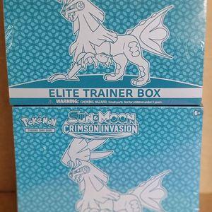 Pokemon Elite Trainer Box S&M Crimson Invasion 2 Boxes for Sale in Anaheim, CA