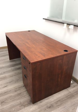 Three secretarial desks available, two with return sides for Sale in Boca Raton, FL