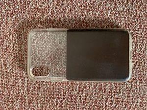 Nomad leather/clear iPhone X case for Sale in Lynchburg, VA