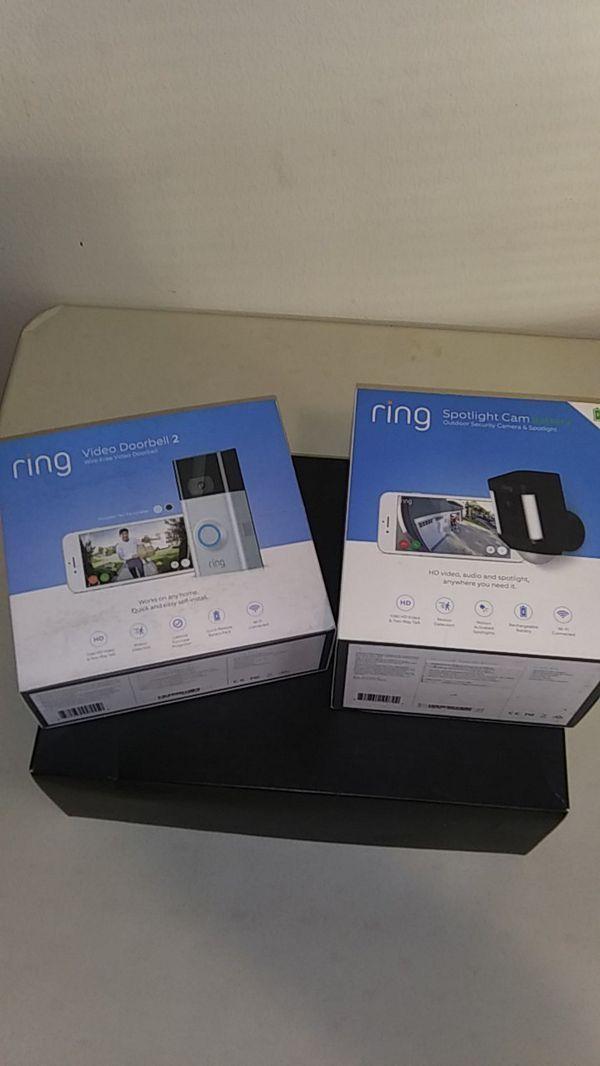 Ring Video Doorbell 2 + Spotlight Cam
