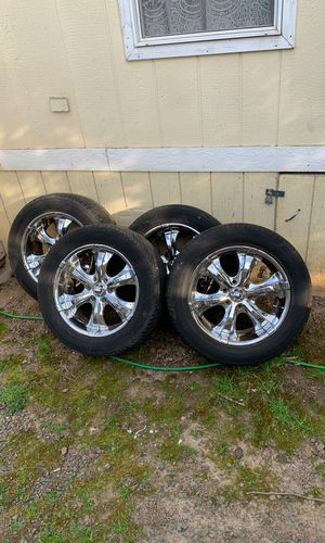 Tahoe rims and tires for Sale in Sherwood, OR