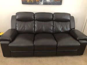 Reclining sofa for Sale in Bend, OR