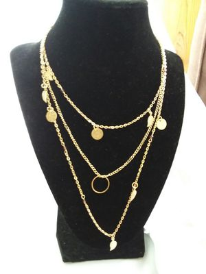 Gold Overlay Necklace for Sale in Sheridan, AR