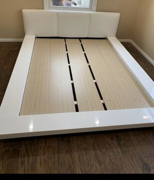 Queen Bed Frame Only for Sale in Beaumont, CA