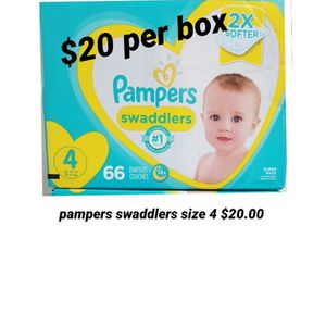 Pampers Swaddlers Size 4 for Sale in Los Angeles, CA