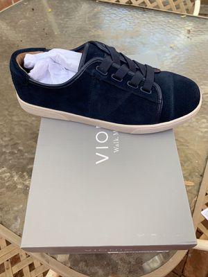 Vionic Suede Water Resistant Cupsole Sneakers Jean Navy for Sale in Bakersfield, CA