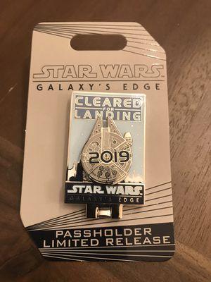 Star Wars galaxy edge pin for Sale in Tustin, CA