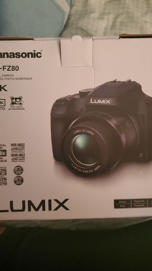 Panasonic Lumix DC-FZ80 Digital Camera - Brand New for Sale in Aurora, CO