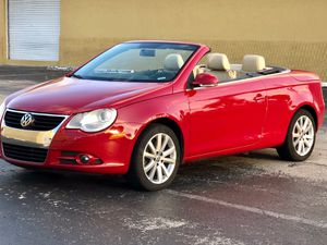 2009 Volkswagen Eos Convertible Manual for Sale in Hollywood, FL