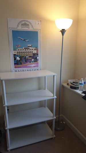 Shelves and lamp for Sale in Arlington, VA