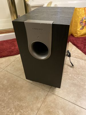 Onkyo powered subwoofer for Sale in Gilbert, AZ