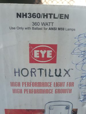 Hortilux bulb hps light hydroponics for Sale in Carson, CA