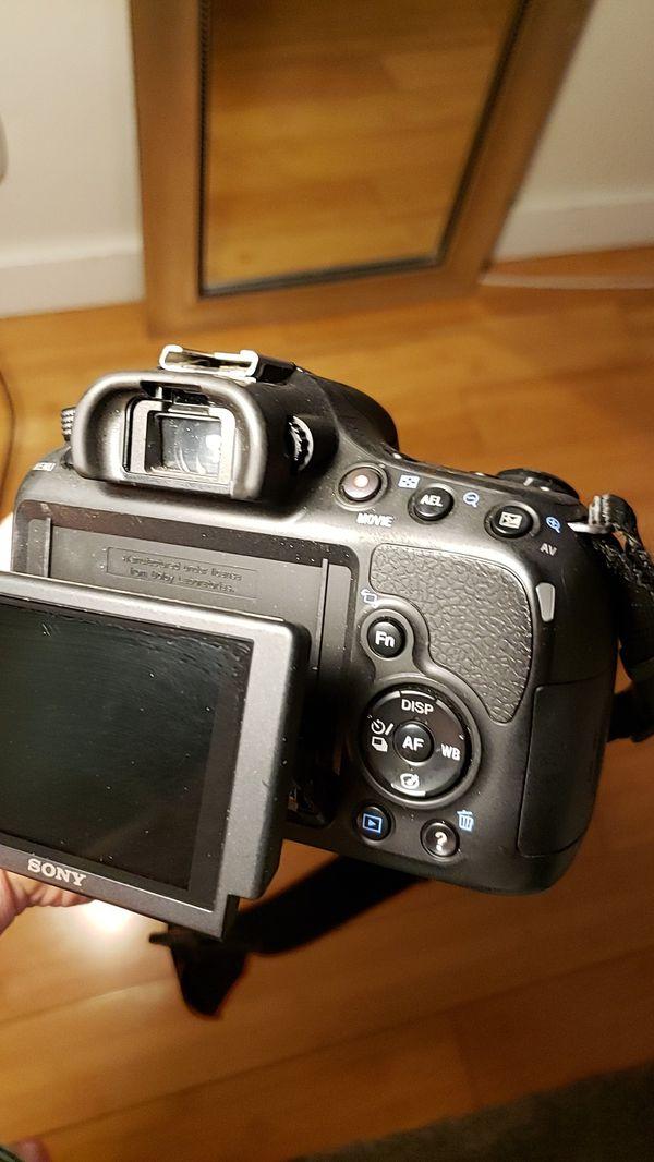 A58 Sony, Digital HD , 20.1 megapixel camera