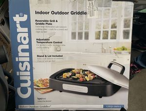 Cuisinart Indoor Outdoor Grill with Reversible Grill & Griddle for Sale in Compton, CA
