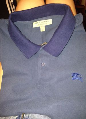 Burberry navy polo nwot size large for Sale in Los Angeles, CA