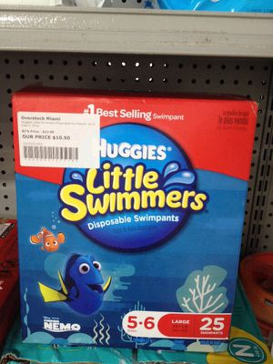 Huggies little swimmers for Sale in Miami Lakes, FL