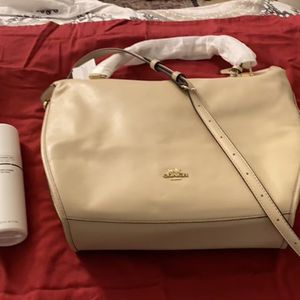 Authentic Coach Purse (with Leather Cleaner) for Sale in Burke, VA