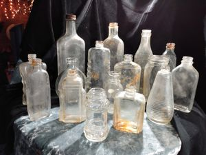 Antique Glass Bottles for Sale in Sterling, CO