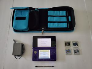 Nintendo 3DS, case, games. for Sale in Parrish, FL