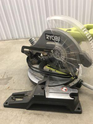 Ryobi 10 inch, 14 amp chop saw for Sale in Miami, FL