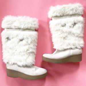 Steve Madden Tall white boots for Sale in Mesa, AZ