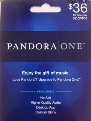 Pandora one... Unlimited skips for Sale in Poteau, OK