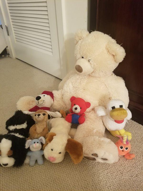 Plush toys variety