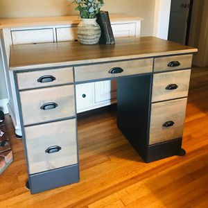 Refinished Solid Wood Desk for Sale in San Diego, CA