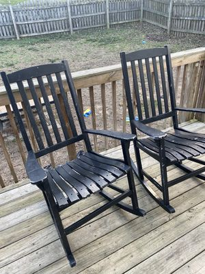 Wooden Porch Rocking Chairs for Sale in Wake Forest, NC